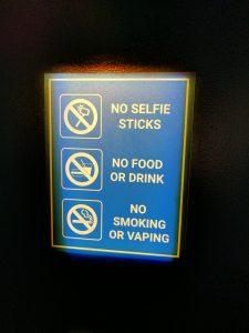 No selfie sticks allowed on NASA grounds